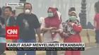 VIDEO: Kabut Asap Kembali Menyelimuti Pekanbaru