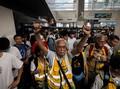 Pedemo Hong Kong Setop Aksi untuk Peringati Tragedi 9/11