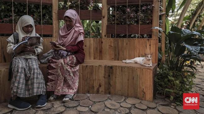Berbagai tanaman dan hewan yang bisa jadi hobi dipamerkan di Lapangan Banteng, Jakarta Pusat.