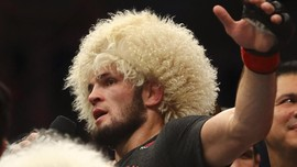 UFC 254: Masker Khabib Seharga Rp3,3 Juta Jadi Pembicaraan