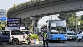 Belum Sepekan Ganjil Genap, Pengguna Angkutan Naik 3 Persen
