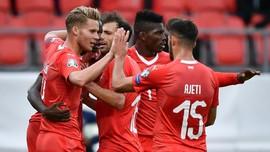 Swiss Bungkam Gibraltar 4-0
