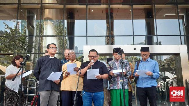 Para tokoh lintas agama menolak revisi UU KPK karena itu merupakan pelemahan sistematis terhadap lembaga antirasuah.