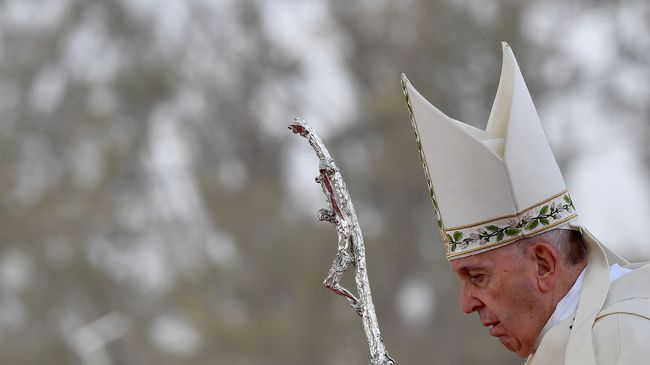 Paus Dukung Aturan Hubungan Pasangan Sejenis Netizen Riuh