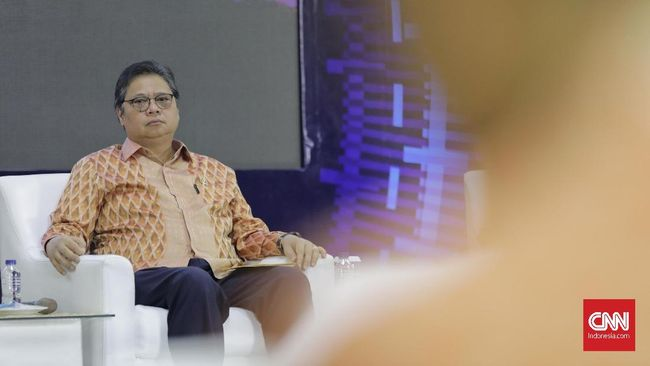 Menko Airlangga memaparkan tingginya potensi pasar digital sejalan dengan tren penggunaan transaksi digital di tengah pandemi virus corona.