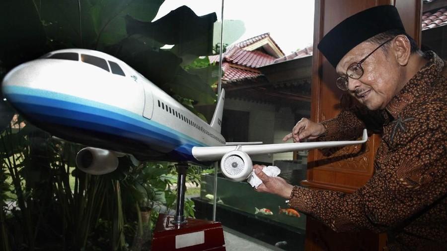 Kesempatan Langka Lihat FS R80, Pesawat Impian Terakhir Habibie