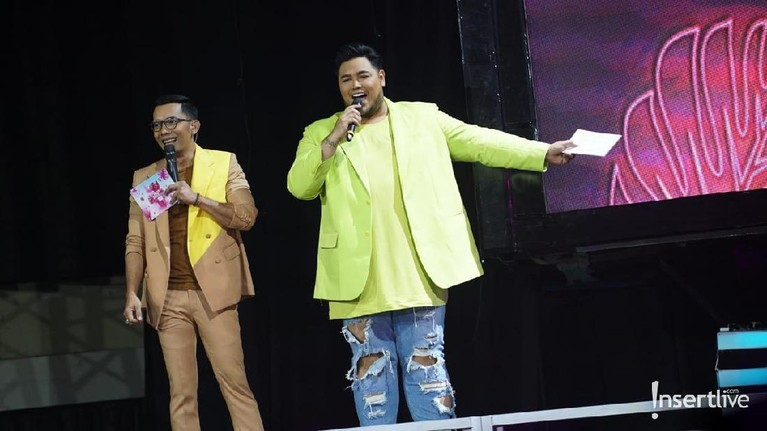 Ivan Gunawan juga memeriahkan Konser Korean Wave 2019 ini.