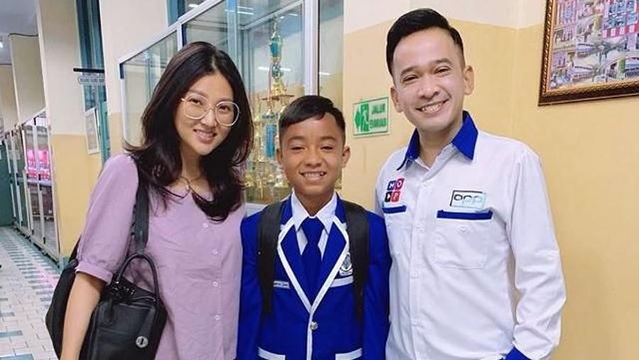 Betrand Peto Sekolah di Jakarta, Ruben Onsu: Kegiatan Pagiku Bertambah