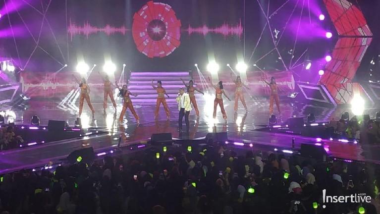 Band Ungu juga meramaikan acara yang digelar pada Selasa 10 September 2019 malam kemarin.