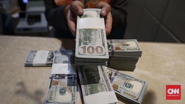 Rupiah menguat 0,66 persen ke level Rp14.735 per dolar pada akhir pekan ini. Penguatan salah satunya dipicu respons positif pasar atas rencana revisi UU BI.