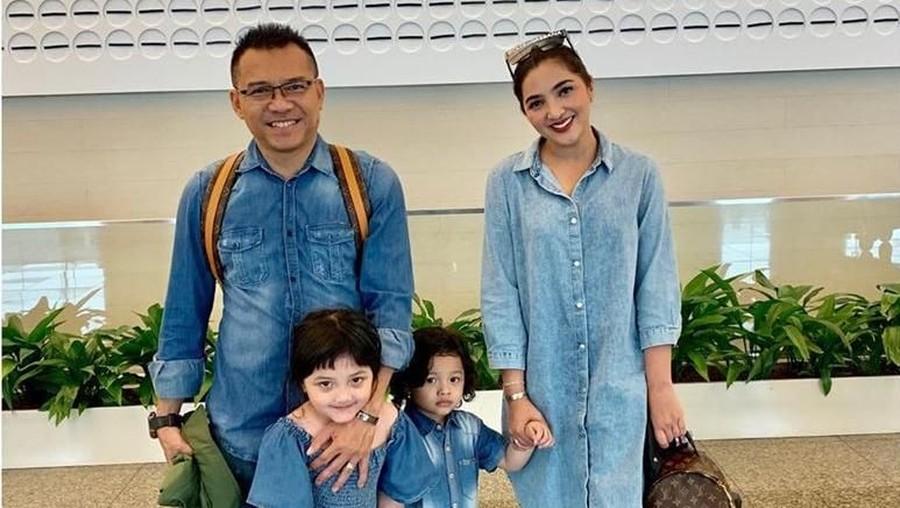 Haru-biru Ashanty Liburan Bareng Anak-anak Tanpa Pengasuh