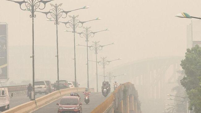 Tak Tahan Kabut Asap di Riau, Warga Mengungsi ke Medan