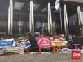 Gedung KPK Sepi Pagi Ini Usai Firli Terpilih Jadi Ketua