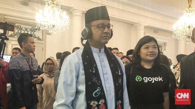 Kata Anies, agar air bisa cepat surut, Pemprov DKI Jakarta akan  menerapkan tiga prinsip, yakni, Siaga, Waspada, dan Galang.