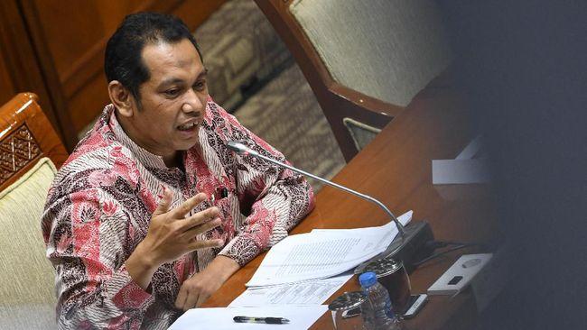 Wakil Ketua KPK memenuhi panggilan pemeriksaan Ombudsman RI terkait aduan dugaan maladministrasi dalam pelaksanaan asesmen tes wawasan kebangsaan (TWK).