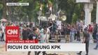 VIDEO: Situasi Gedung KPK Usai Ricuh