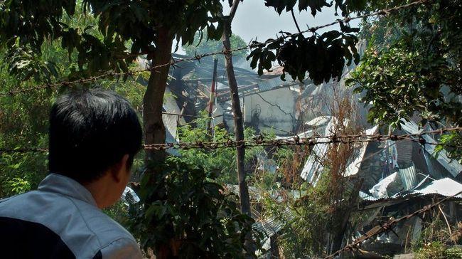 Ledakan di Mako Brimob Semarang, Polri: Penyebabnya Bom Sisa Perang Dunia