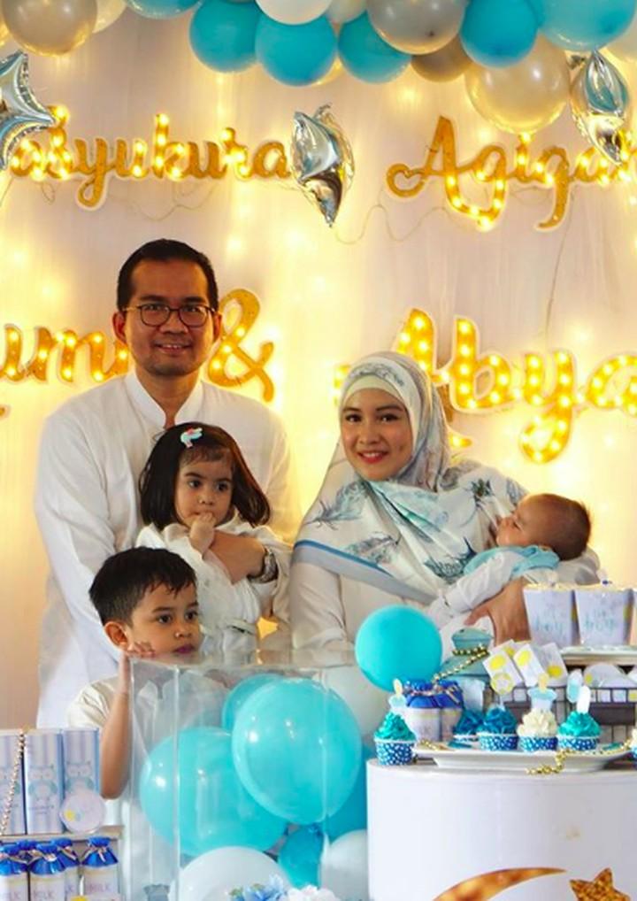<p>Intan Nuraini bersama suaminya Donny Azwan Putra dikarunia tiga anak. (Foto: Instagram @intan_nuraini)</p>