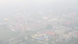 Asap Karhutla Riau Sampai Sumut, Pesawat Batal Mendarat