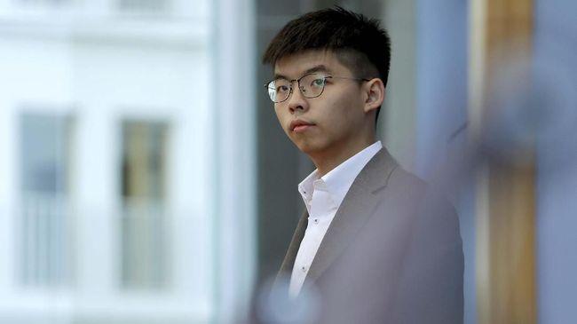 Aktivis muda Hong Kong, Joshua Wong, dijatuhi hukuman empat bulan penjara setelah mengaku bersalah atas dua tuduhan terkait demonstrasi pada 2019 lalu.