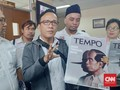 Protes Cover Tempo 'Pinokio', Jokowi Mania Datangi Dewan Pers