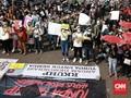 Aksi Terus Meluas, Mahasiswa di Samarinda Terjun Long March