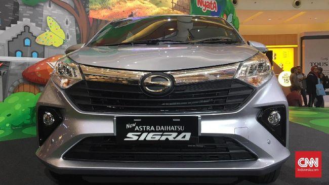 Angka penjualan Daihatsu Sigra di segmen LCGC hanya sedikit lebih banyak dari kembarannya Toyota Calya.