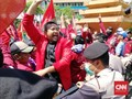 Mahasiswa Muhammadiyah Surabaya Protes Pengesahan UU KPK