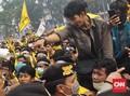 Unjuk Rasa Karhutla di Palembang Ricuh, 3 Mahasiswa Terluka