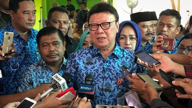 Soal Perppu KPK, Tjahjo Dilarang Buat Keputusan Strategis