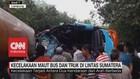 VIDEO: Kecelakaan Maut Bus dan Truk di Lintas Sumatera