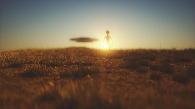 Penampakan UFO itu diklaim terlihat di New York dan terjadi dua kali lipat dari tahun sebelumnya dengan total 300 penampakan.
