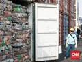 FOTO : 135 Ton Sampah Plastik Dikembalikan ke Australia