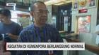 VIDEO: Kegiatan di Kemenpora Berlangsung Normal