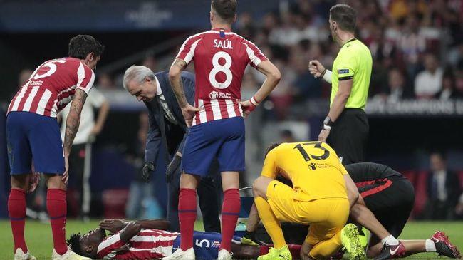 Arsenal akhirnya resmi merekrut Thomas Partey dari Atletico Madrid dengan menebus klausul rilis sebesar 50 juta euro atau setara Rp869 miliar.