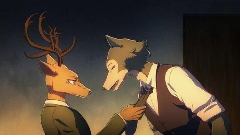 BEASTARS. Sempat menunda tayang tayangnya, komik karya Paru Itagaki ini siap rilis pada 8 Oktober.