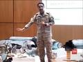 VIDEO: Saudi Beberkan Bukti Serangan Iran ke Kilang Aramco