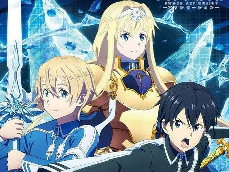 SAO Alicization: War of Underworld. Sama dengan anime sebelumnya, anime yang diadaptasi dari seri novel ini juga akan rilis 12 Oktober mendatang.