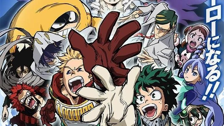 My Hero Academia 4. Tak lama lagi petualangan Deku dan kawan-kawan segera hadir. Anime ini tayang pada 12 Oktober mendatang.