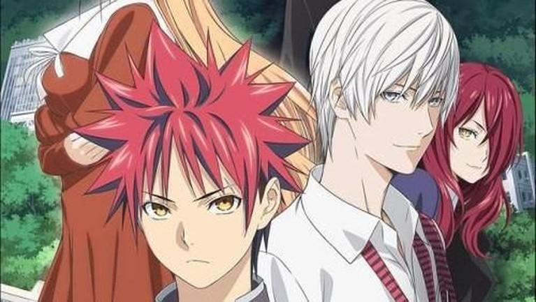 Shokugeki no Soma: Shin no Sara. Adaptasi anime dari manga karya Yuto Tsukuda dan Shun Saeki ini tayang mulai dari 11 Oktober.