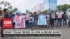 VIDEO: Demo Tolak Revisi UU KPK & Revisi KUHP