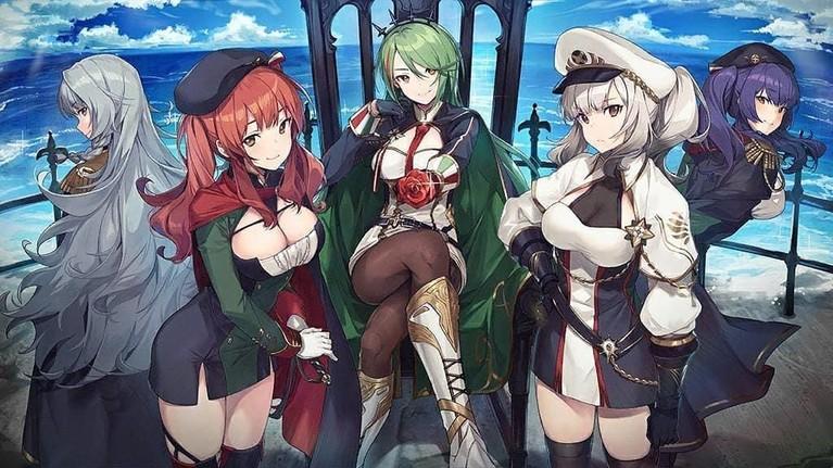 Azur Lane. Tayang pada 3 Oktober mendatang, anime tentang peperangan ini siap berperang di lautan. Anime ini juga menggaet penyanyi May'n untuk menyanyikan lagu pembukaannya.
