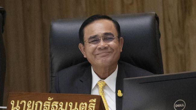 Ketua Majelis Nasional Thailand mengumumkan suara parlemen mayoritas masih memberikan kepercayaan kepada PM Prayuth Chan-ocha.