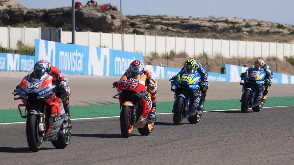 Tonton Live Streaming MotoGP Aragon 2020 di detikSport!