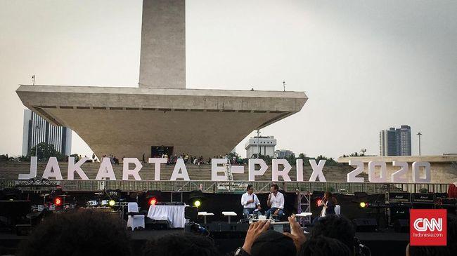 Empat bulan jelang Formula E Jakarta digelar, penggunaaan Monas sebagai area lintasan ditolak. Berikut kronologi persiapan Formula E.