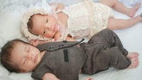 Kenalkan, Bun, ini Shelma Aisyah Sawkani dan Shaldy Araya Sawkani, bayi kembar fraternal Bunda Ratna Galih. (Foto: Instagram @ratnagalih)