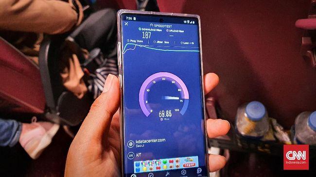 Jajal Internet 'Ngebut' 5G di Seoul, Kecepatan Unduh 523 Mbps