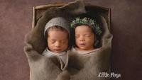 Shelma dan Shaldy adalah hasil dari program bayi tabung. (Foto: Instagram @ratnagalih)