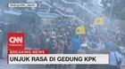 VIDEO: Memanas! Unjuk Rasa di Gedung KPK Ricuh