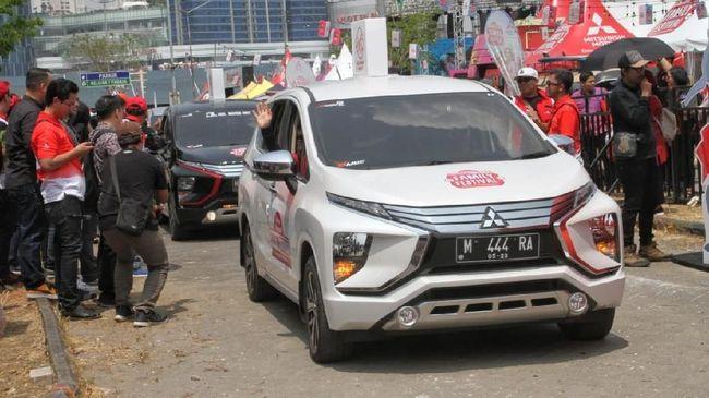 Pada semester I total penjualan Mitsubishi Xpander masih di bawah Toyota Avanza, sedangkan di urutan ketiga ada Suzuki Ertiga.